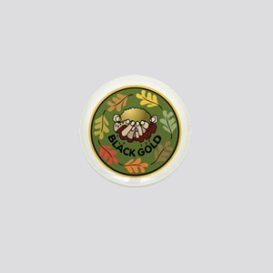 Black Gold Composting Mini Button