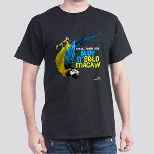 Blue & Gold Macaw Dark T-Shirt
