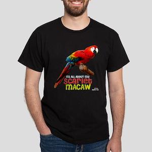 Scarlet Macaw Dark T-Shirt