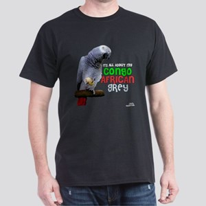 Congo African Grey Dark T-Shirt