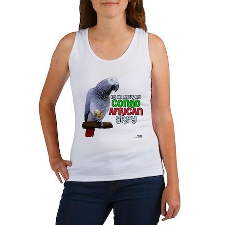 Congo African Grey Women's Tank Top