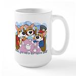 Corgi Tea Party Large Mug