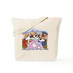 Corgi Tea Party Tote Bag