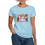 Corgi Tea Party Women's Light T-Shirt