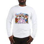 Corgi Tea Party Long Sleeve T-Shirt