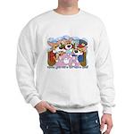 Corgi Tea Party Sweatshirt