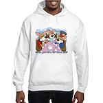 Corgi Tea Party Hooded Sweatshirt