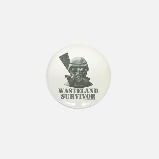 Wasteland Survivor Mini Button