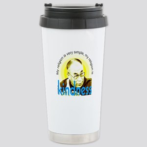 Kindness Dalai Lama Quote Stainless Steel Travel M