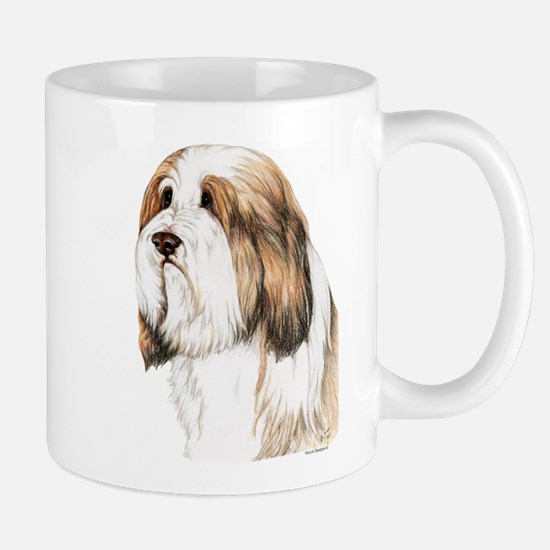 Brown Bearded Collie Beardie Mug