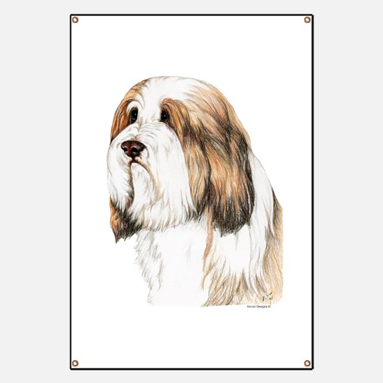 Brown Bearded Collie Beardie Banner