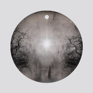 Follow The Light Ornament (Round)