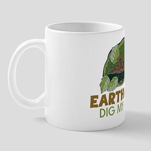 Garden Earthworms Mug