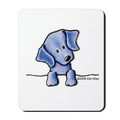 Weimaraner Pocket Pup Mousepad
