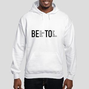 Beto for Change - White Sweatshirt