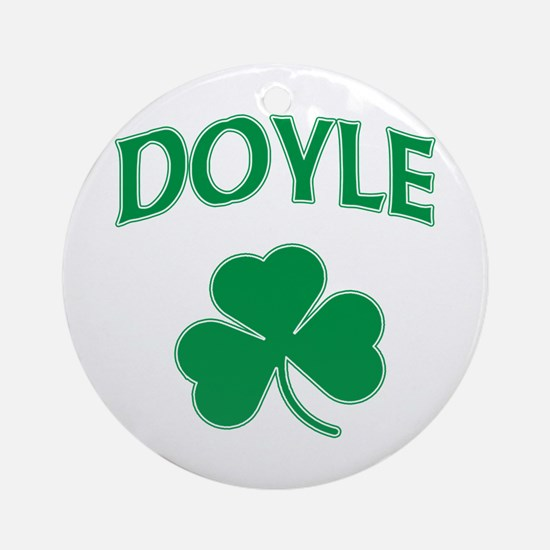 Doyle Irish Ornament (Round)