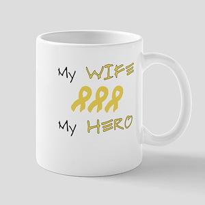 Hero Wife Peach Mug