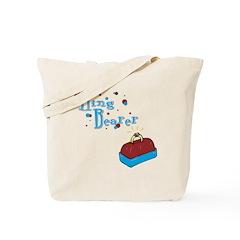 Retro Ring Bearer Tote Bag