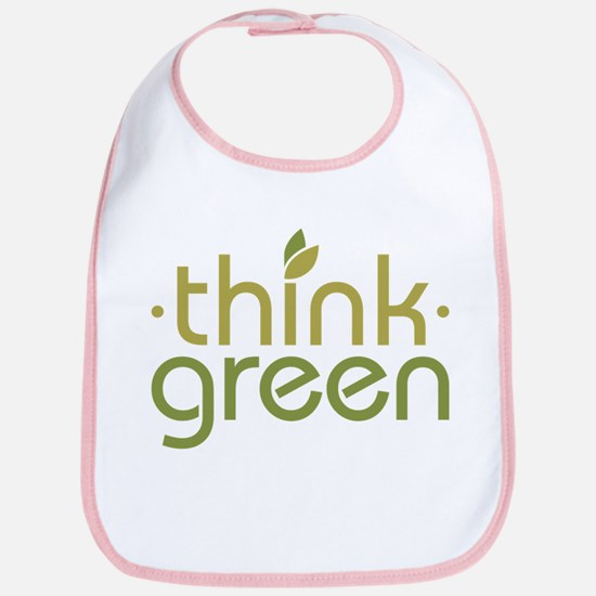 Think Green [text] Bib