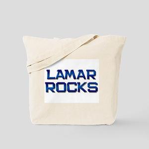 lamar rocks Tote Bag