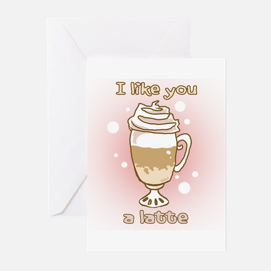 Like You a Latte Greeting Cards (Pk of 20)