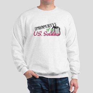 Property of a U.S. Soldier Sweatshirt