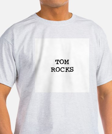 TOM ROCKS Ash Grey T-Shirt