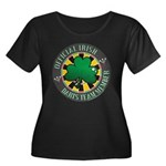 Irish Darts Team Women's Plus Size Scoop Neck Dark