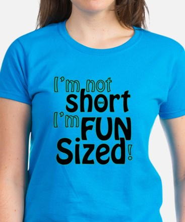 Not Short, Fun Sized Women's Dark T-Shirt