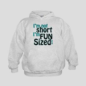 Not Short, Fun Sized Kids Hoodie