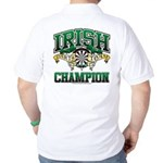 Irish Darts Champ Golf Shirt