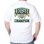 Irish Darts Champ Golf Shirt