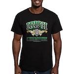 Irish Darts Champ Men's Fitted T-Shirt (dark)
