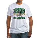 Irish Darts Champ Fitted T-Shirt