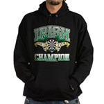Irish Darts Champ Hoodie (dark)