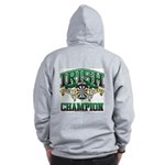 Irish Darts Champ Zip Hoodie