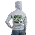 Irish Darts Champ Women's Zip Hoodie