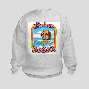 Jose's Starfish Encounter Kids Sweatshirt
