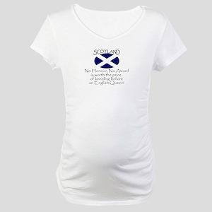 No Kneeling Horizontal Maternity T-Shirt
