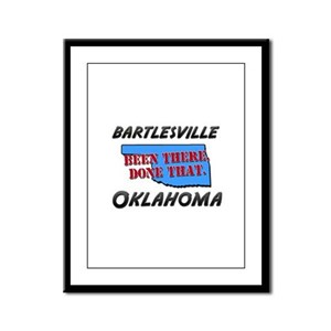 bartlesville oklahoma - been there, done that Fram
