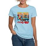 SECRET SOCIETY PIZZA PARTY Women's Light T-Shirt