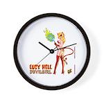 LUCY HELL, Devilgirl Wall Clock