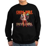 LUCY HELL, Devilgirl Sweatshirt (dark)