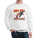 LUCY HELL, Devilgirl Sweatshirt