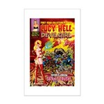 LUCY HELL, Devilgirl Mini Poster Print