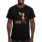LUCY HELL, Devilgirl Men's Fitted T-Shirt (dark)