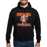 LUCY HELL, Devilgirl Hoodie (dark)