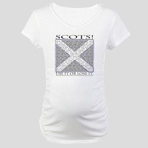 Scottish Independence Maternity T-Shirt