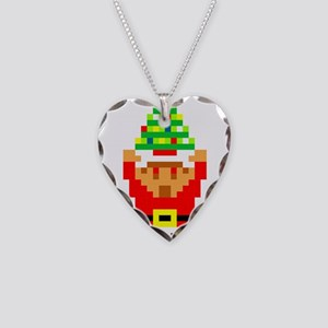Legend of Santa Link Necklace Heart Charm