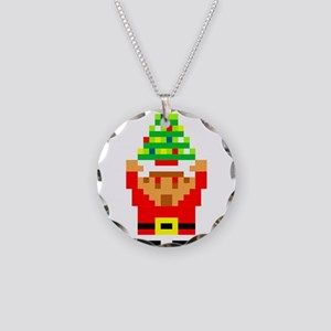 Legend of Santa Link Necklace Circle Charm